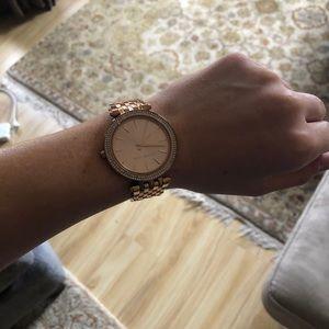 Michael Kors Darci Pavé Stainless Steel Bracelet